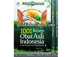 """Buku 1001 Resep Obat Asli Indonesia"""