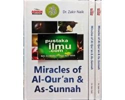 """""""Buku Miracles of Al-Qur'an dan As-Sunnah"""" DR Zakir Naik"""