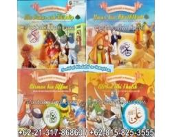 """""""Buku Serial al-Khulafa' ar-Rasyidun Untuk Anak"""""""